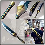 七つの大罪 戒めの復活 メリオダス 魔剣ロストヴェイン 手製で作ります Cosplay コスプレ道具(細部強化版)鞘付き