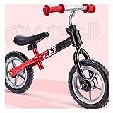 LFFME Bicicleta Sin Pedales First Bike para Niños De 1 A 3 Años, Bici para Aprender A Mantener El Equilibrio con Sillín Ajustables, Juguetes para Niños De 2 A 5 Años