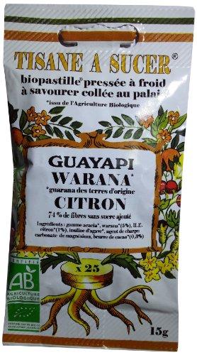 Guayapi Pastilles à Sucer Warana Citron 15 g - Lot de 2