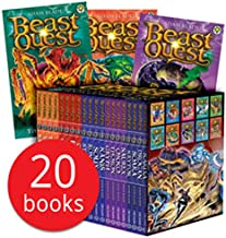 Beast Quest: Heroes and Battles (Series 14-18) Collection - 20 Books