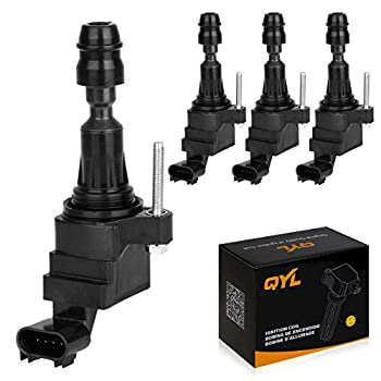 4Pcs Ignition Coil Pack Replacement for Chevy Malibu HHR Cobalt Equinox GMC Terrain Pontiac G6 12638824 12578224 D522C