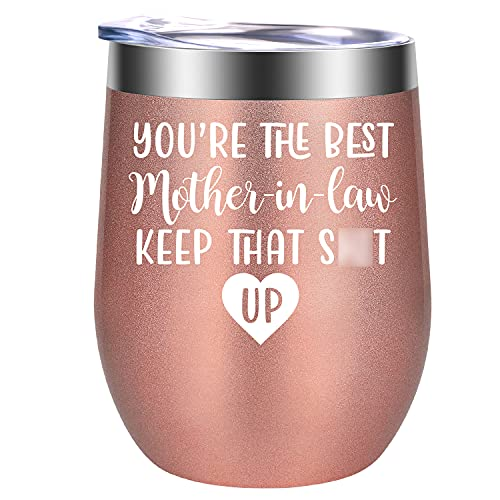 Mother in Law Gifts from Daughter in Law - Funny Christmas Wine Gifts...