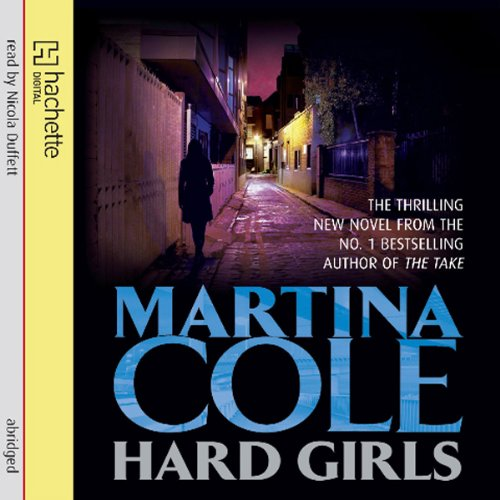 Hard Girls audiobook cover art