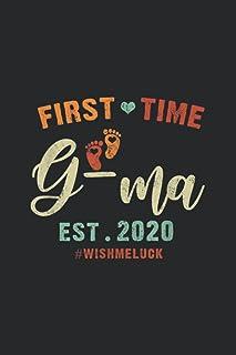 First Time GMa Est 2020 WISHMELUCK Notebook: Notebook Journal