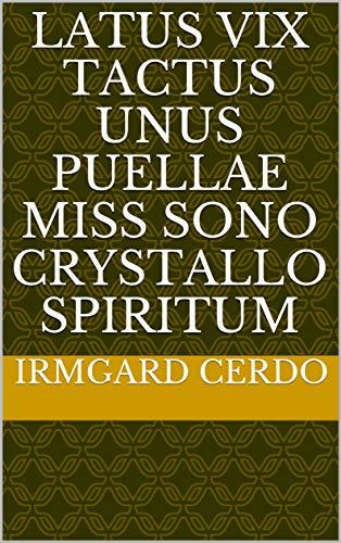 latus vix tactus unus puellae miss sono crystallo spiritum