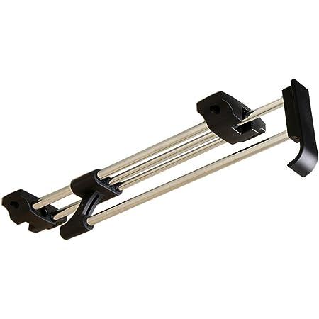 Rail de suspension pour armoire à vêtements ZJchao avec porte-manteau, et support d'organisation en métal, AX-AY-ABHI-98339