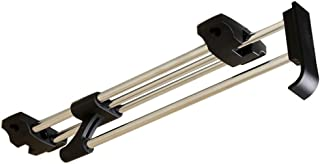 resistente e estensibile per soggiorno spazio estensibile 101-141X44X106-174 cm Appendiabiti estensibile con ruote