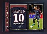 SGH SERVICES Gerahmtes Poster, Neymar JR Paris Saint