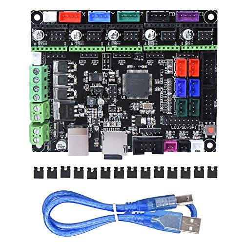 BIGTREETECH 3D Printer Part SKR V1.1 32-Bit with ARM CPUControl Board Open Source SmoothieboardSupport TMC2130 TMC2208 Driver 12864 LCD