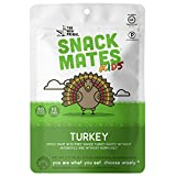 Snack Matesby The New Primal Free-Range Turkey MINI Sticks, High Protein and Low Sugar Kids Snack, Certified Paleo, Certified Gluten-Free, Lunchbox Friendly,5 (0.5 oz) Sticks Per Pack (8 Pack)