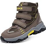 Zapatos de Senderismo para Niños Botas de senderismo Botas de nieve(4 Marrón,34 EU)