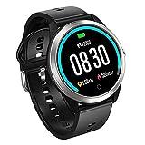 Bluetooth Smart Watch, Volkcam IP68 Wasserdichtes ECG PPG Smart Armband Fitness Activity Tracker Herzfrequenz Blutdruck-Sauerstoffmessgerät Kamera SMS Push Step Counter für Kinder Frauen Männer