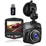 Upgraded Dash Cam Car Camera 1080P FHD Car DVR Dashboard Camera Video Recorder with Night Vision,G-sensor,Loop Recording,Motion Detection and Parking Monitor(2020 New Version)