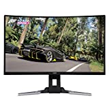 Acer XZ321Q bmijpphzx 31.5' Curved Full HD (1920 x 1080) AMD Radeon FreeSync and NVIDIA G-SYNC Compatible Gaming Monitor (Display Port, Mini Display Port & 2 x HDMI Ports)