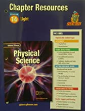 Glencoe Science: Physical Science- Chapter Resources, Chapter 14: Light With Answer Keys