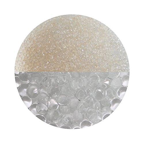 trendfinding Granulato per terriccio Artificiale - Perle d'Acqua da 3-4 mm - Trasparente