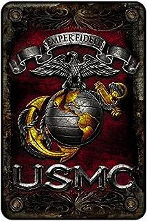 usmc metal art