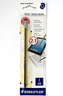 STAEDTLER WOPEX NORIS STYLUS PENCIL - 2 IN 1 PENCIL WITH STYLUS FUNCTION