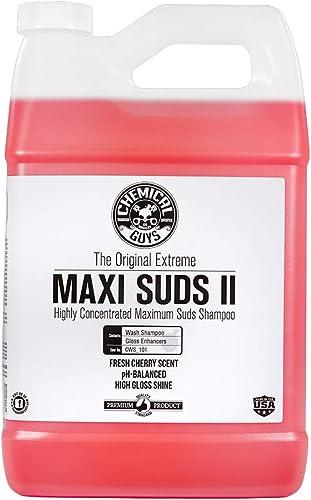 ChemicalGuys CWS_101 Maxi-Suds II Super Suds Car Wash Soap and Shampoo (1 Gal)
