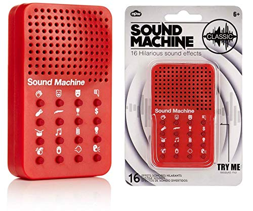 Soundgenerator Classic, 16 lustige Soundeffekte, Geräusche, Party, Gag, Sounds