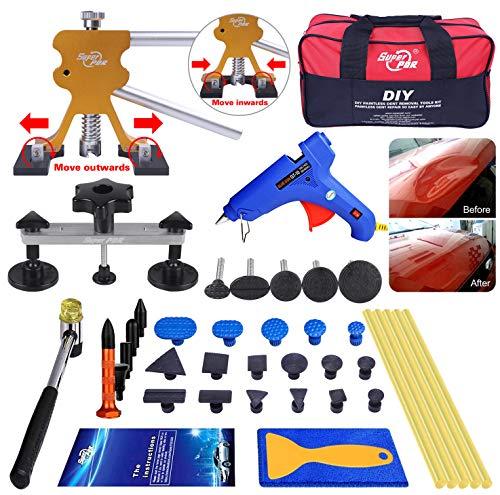 AUTOPDR 48pcs DIY Paintless Dent Removal Tool Kit