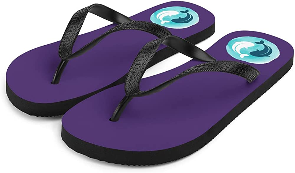 Yin Yang Inspired Flip Flops