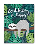 Don't Hurry, Be Happy Just Right 2020 17-Month Monthly Planner