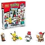 Mega Brands Construx Pokémon Calendario dell'Avvento con 24 Sorprese, Giocattolo per Bambini 6+ Anni, GPV08