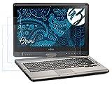 Bruni Schutzfolie kompatibel mit Fujitsu Lifebook T902 Folie, glasklare Bildschirmschutzfolie (2X)