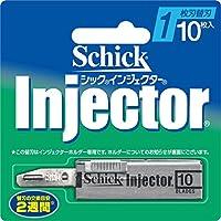 シック Schick インジエクター 1枚刃 替刃 10枚入