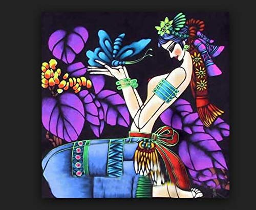 Puzzle 1000 piezas Pintura colorida moderna, estilo de arte popular especial étnico de Yunnan puzzle 1000 piezas Rompecabezas de juguete de descompresión intelectual educativo50x75cm(20x30inch)