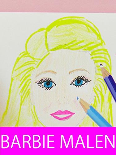 DIY Barbie malen  Kathi versucht Barbie zu malen  Kann man sie erkennen