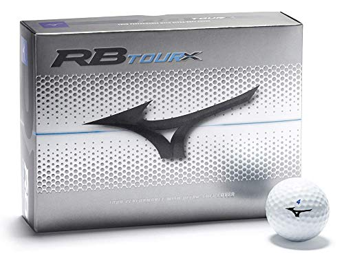 Mizuno Golf 2019 RB Tour X Performance Herren Golf Balls 1 Dozen