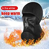 Isafish Unisex Windproof Thermal Mask Cycling Skiing Winter Outdoor Neck Protection