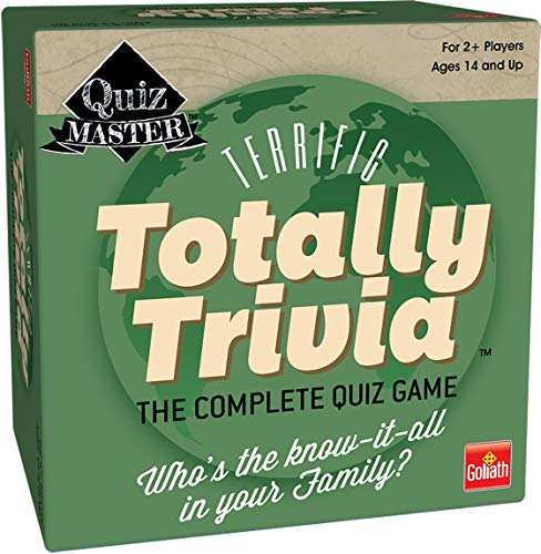 Totally Trivia  The Complete Quiz Game by Goliath