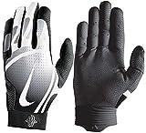 Nike Huarache Pro Baseball Gloves, Adult, Black/White (Large)