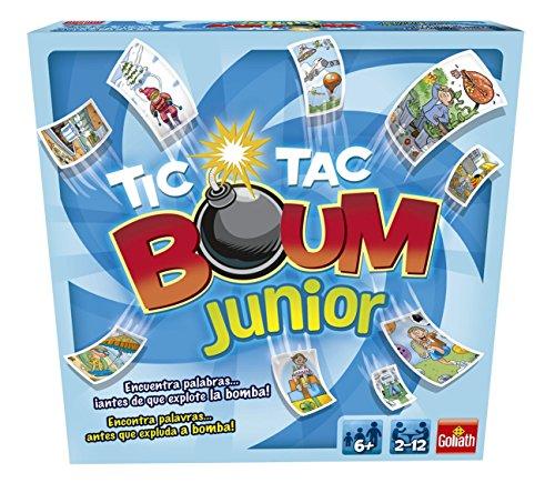 Goliath - Tic Tac Boum Junior, Juego de Cartas , Encuentra la...