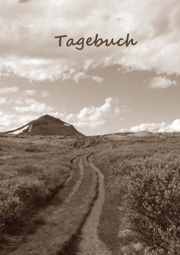 TageBuch / Notizbuch A5 - Der Weg: liniert