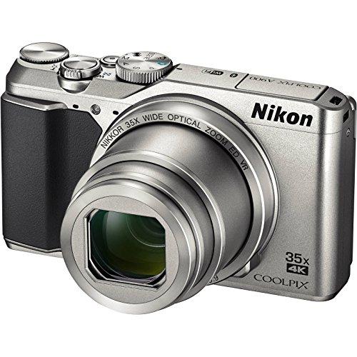 Nikon Coolpix A900 4K Wi-Fi Digital Camera (Silver) - (Renewed)