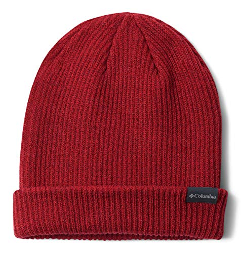 Columbia Men's Lost Lager Beanie, Mountain Red, One Size