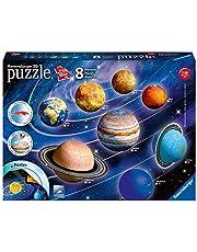 Ravensburger 3D Puzzle 11668 - Planetensystem - 522 Teile