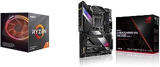 Pack gráfica ASUS y Procesador AMD: Ryzen 7 3700X y ROG Crosshair VIII Hero (Wi-Fi)