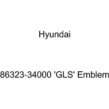 HYUNDAI Genuine 86318-B8000 Limited Emblem