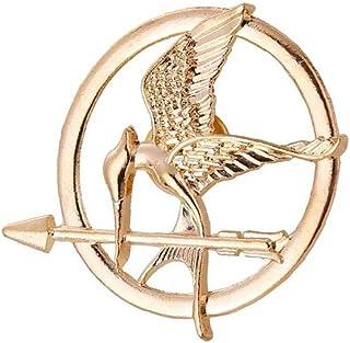 the Hunger Games Di Mockingjay Di Film Puntello Rep Pin (mockingjay D'oro)