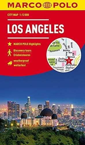 MARCO POLO Cityplan Los Angeles 1:12 000 (MARCO POLO Citypläne)