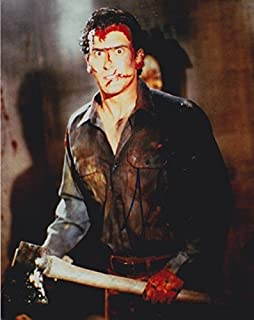 Bruce Campbell (Evil Dead) signed 8x10 photo