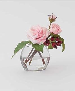(エミリオロバ) EMILIO ROBBA TTNTD61040 バラ ローズ ガラス 花器 花 アレンジメント アートフラワー ギフト お祝い