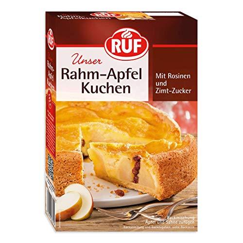 RUF Rahm Apfel Kuchen mit Rosinen und Zimt Zucker, 8er Pack (8 x 435 g)