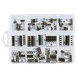 ViD - morsetti di collegamento a leva assortimento 70 pezzi misti a leva tipo UC - 02, 03, 05 30 x UC02 I 25 x UC03 I 15 x UC05 I 1 X scatola di plastica VDE & ENEC10 testato