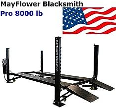 Mayflower Blacksmith Four Post Lift car Lift Storage Service 8000 lb Pro 8000